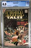 Unusual Tales #9 CGC 4.0 ow/w