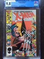 Uncanny X-Men #211 CGC 9.8 w