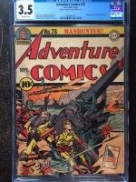 Adventure Comics #78 CGC 3.5 ow