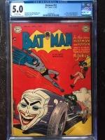 Batman #52 CGC 5.0 ow