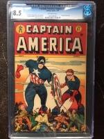 Captain America Comics #57 CGC 8.5 ow