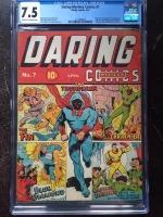 Daring Mystery Comics #7 CGC 7.5 cr/ow