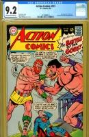 Action Comics #353 CGC 9.2 ow/w