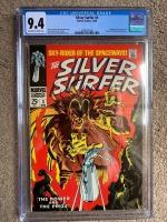 Silver Surfer #3 CGC 9.4 ow/w