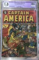 Captain America Comics #9 CGC 1.0 b
