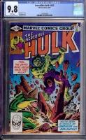 Incredible Hulk #263 CGC 9.8 w