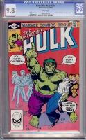 Incredible Hulk #264 CGC 9.8 w