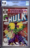Incredible Hulk #266 CGC 9.8 w