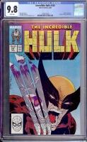 Incredible Hulk #340 CGC 9.8 w