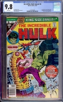 Incredible Hulk Annual #6 CGC 9.8 w