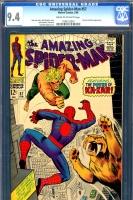 Amazing Spider-Man #57 CGC 9.4 cr/ow