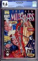 New Mutants #98 CGC 9.6 w