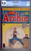 Archie Comics #16 CGC 9.0 ow