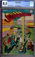 Superman #31 CGC 8.5 w