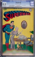 Superman #43 CGC 8.5 ow/w