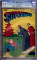 Superman #45 CGC 8.0 ow/w