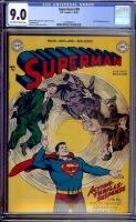 Superman #59 CGC 9.0 ow/w