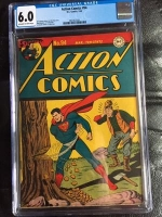 Action Comics #94 CGC 6.0 ow/w