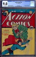 Action Comics #64 CGC 9.0 w