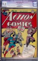 Action Comics #69 CGC 9.2 ow/w