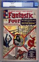 Fantastic Four #17 CGC 8.0 ow