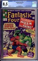 Fantastic Four #25 CGC 8.5 w