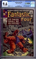 Fantastic Four #43 CGC 9.6 ow/w