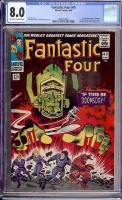 Fantastic Four #49 CGC 8.0 ow/w