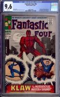 Fantastic Four #56 CGC 9.6 w