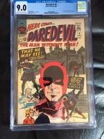 Daredevil #9 CGC 9.0 ow/w