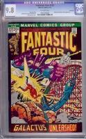 Fantastic Four #122 CGC 9.8 ow Savannah