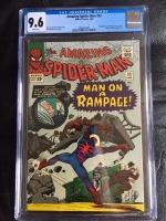 Amazing Spider-Man #32 CGC 9.6 w