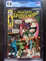 Amazing Spider-Man #91 CGC 9.8 ow/w