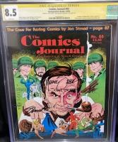 Comics Journal #85 CGC 8.5 w