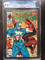 Amazing Spider-Man #323 CGC 9.8 w