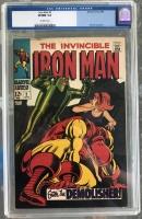 Iron Man #2 CGC 9.0 ow