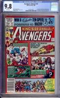 Avengers Annual #10 CGC 9.8 w