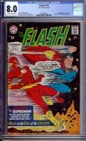 Flash #175 CGC 8.0 ow/w