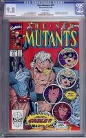 New Mutants #87 CGC 9.8 w