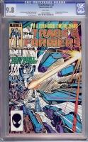 Transformers #4 CGC 9.8 w