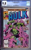 Incredible Hulk #280 CGC 9.8 w