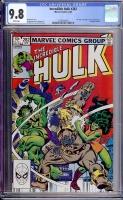 Incredible Hulk #282 CGC 9.8 w