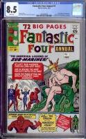 Fantastic Four Annual #1 CGC 8.5 w