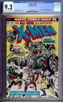 X-Men #96 CGC 9.2 ow/w