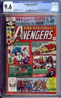 Avengers Annual #10 CGC 9.6 ow/w