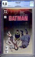 Batman #404 CGC 9.8 w