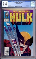 Incredible Hulk #340 CGC 9.6 w
