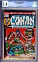 Conan The Barbarian #21 CGC 9.4 ow/w
