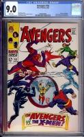 Avengers #53 CGC 9.0 w