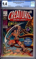 Creatures On The Loose #10 CGC 9.4 ow/w